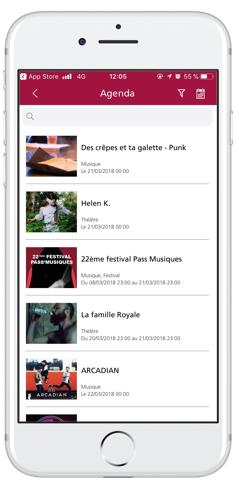 Saint-Etienne-Application-Agenda